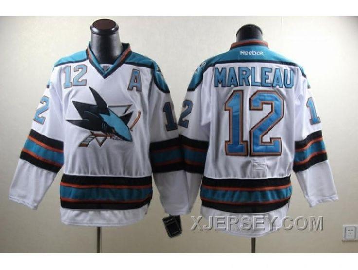 http://www.xjersey.com/new-arrival-nhl-san-jose-sharks-12-marleau-white.html NEW ARRIVAL NHL SAN JOSE SHARKS #12 MARLEAU WHITE Only $50.00 , Free Shipping!