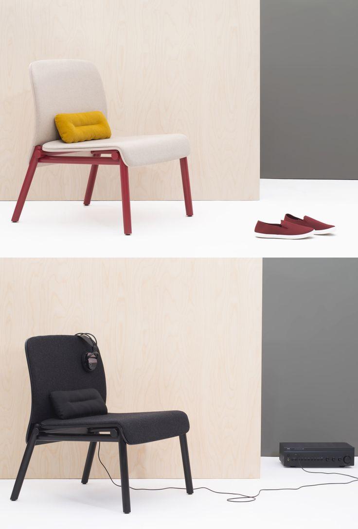 Fotel B-1620 marki Fameg. Specjalna budowa elementów, pozwala na odrębne wybarwianie siedziska, oparcia oraz stelaża.                                   Znajdź więcej na: www.euforma.pl                            #fameg #fotel #armchair #design #home