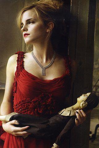 Emma Watson, Vogue Italia - photo by Mark Seliger