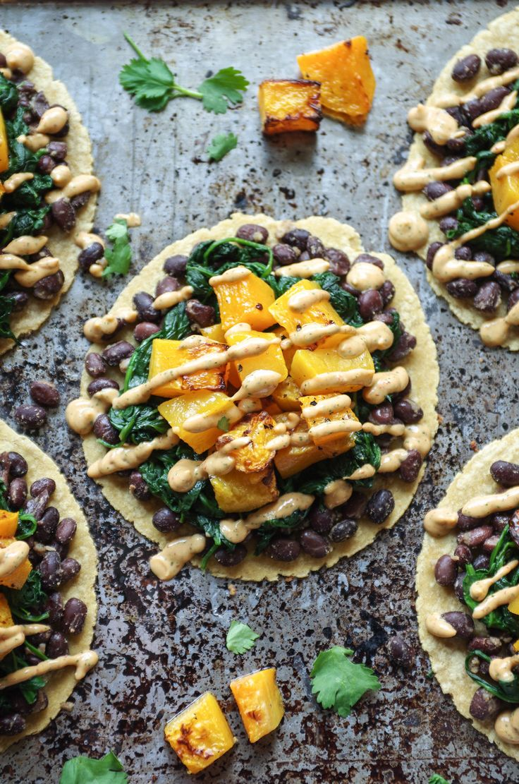 Butternut Squash and Black Bean Tacos — coffee & crayons