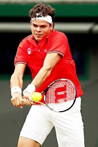 It's all about Milos Raonic this week