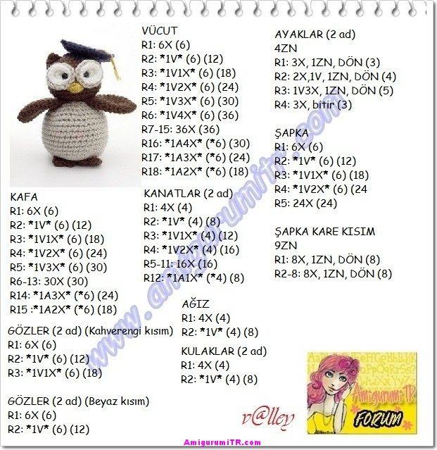 örgü oyuncak nasıl yapılır | Amigurumi Türkiye
