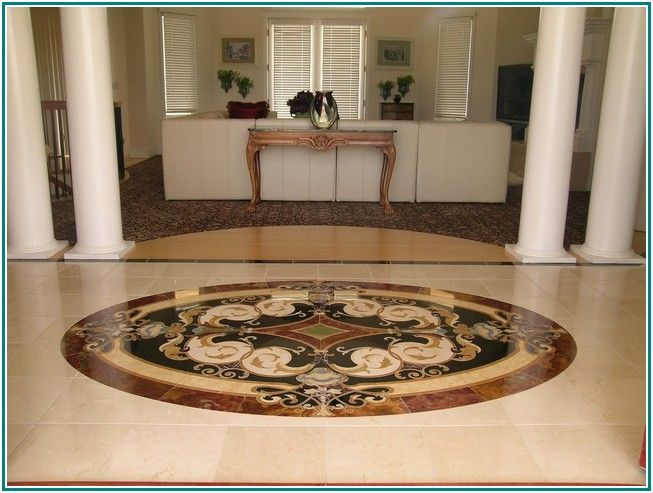 Extremely Stone Floor Medallions