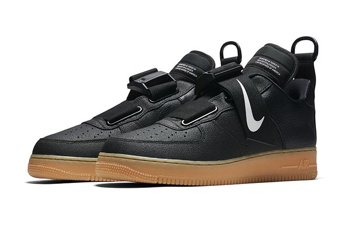 Nike Dress The Air Force 1 Low Utility In Black Nike Air Force
