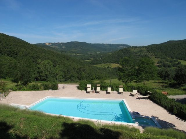 Swimming pool in the country