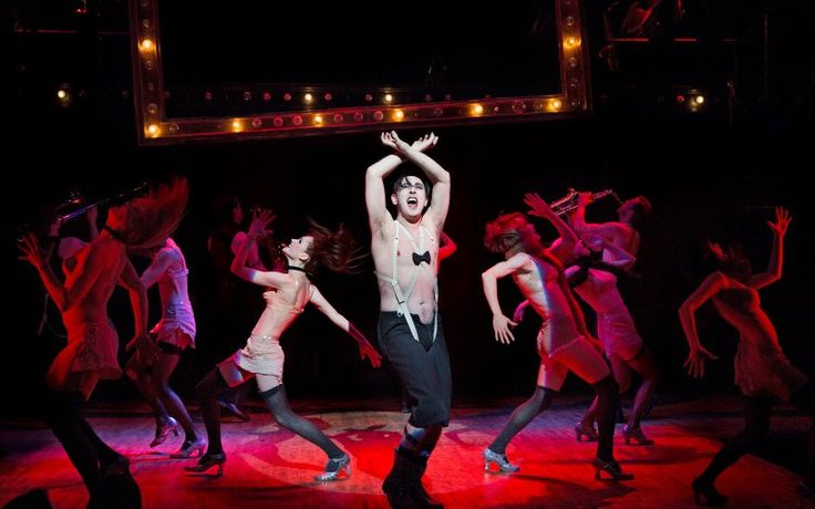 So, what does Cabaret mean today, in the late Obama era? The show doesn't necessarily require any direct parallel to this, or any, administration. It presents, as it long has, a potent message on the dangers of mass indifference in the face of injustice, atrocity, and state terror. For such a reminder, it's always worth another visit back to the Kit Kat Klub.