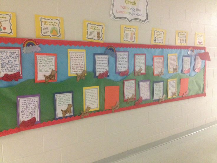 Leader in me 7 habits wizard of oz bulletin board follow for 7 habits decorations