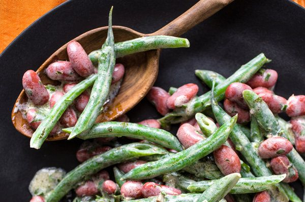 Recipes for Health: Red Bean and Green Bean Salad -- nytimes.com