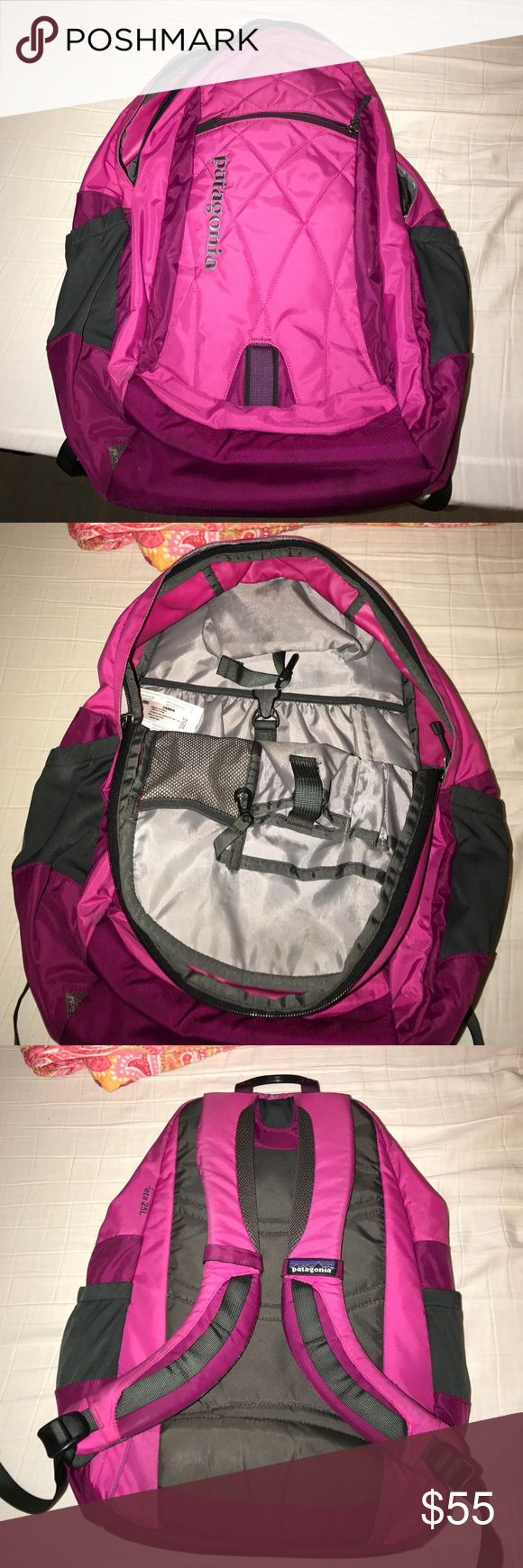 Patagonia Backpack Pink used for a short while. great for students. Patagonia Bags Backpacks