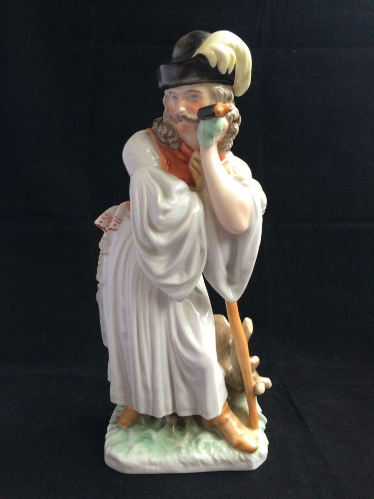 Herend Bauer  Porzellan Figur,