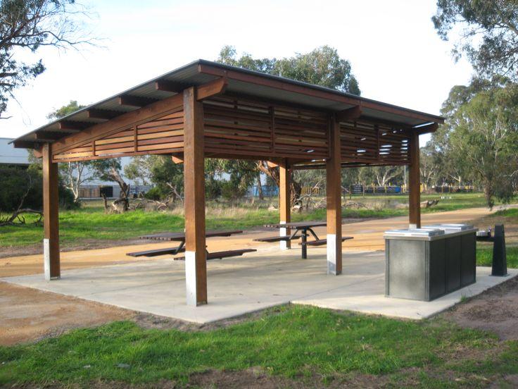 Skillion shelter google search pool pinterest for Pool hut designs