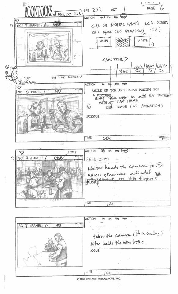 The Boondocks Episode Sketch