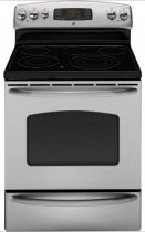 GE JB705STSS 30 Freestanding Smoothtop Electric Range - Stainless Steel