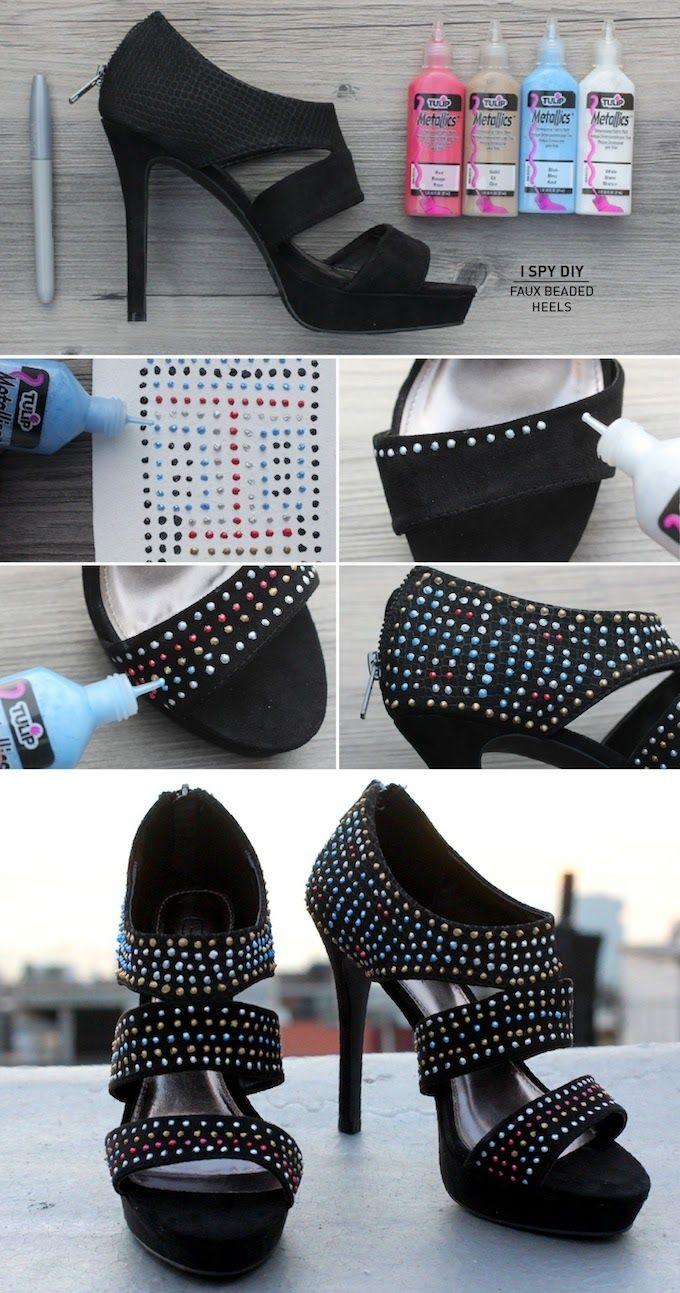 77 best diy shoes schuhe images on pinterest | diy, carnivals and