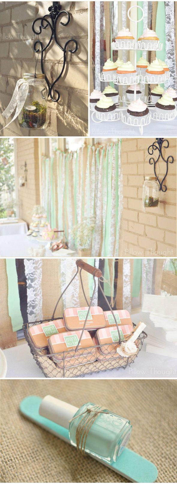 Bridal Shower – Mint to be | Chá de panela