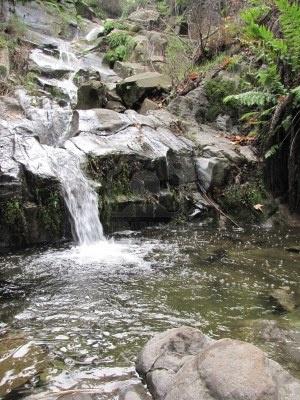 Sycamore Canyon Falls, Ventura County, California