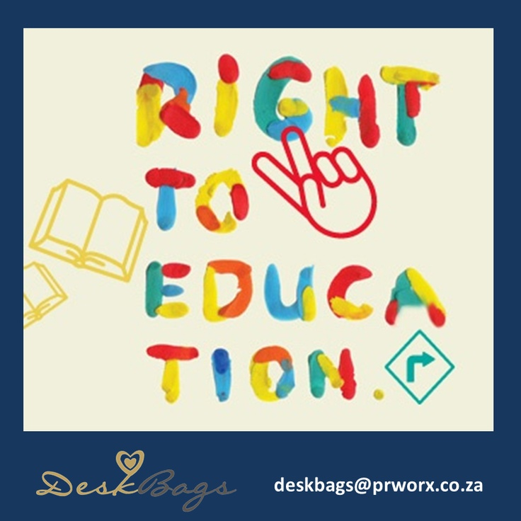 Everyone has a right to education