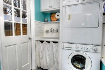 Cottage remodel modern laundry room denver wilco for External laundry doors
