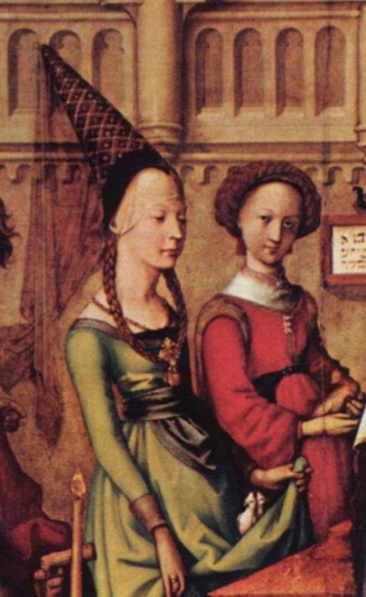In the high and late Middle ages attractive styles became more available to a new middle class. Clothing styles changed more quickly due to new technology, Eastern influences, and a better economy.