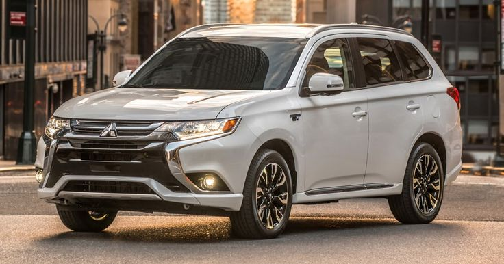2018 Mitsubishi Outlander PHEV Lands In The U.S. From $35,535 #Hybrids #Mitsubishi