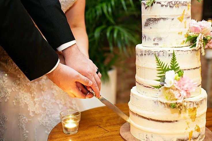 Eagle Farm Racecourse - Wedding Cake Cutting | Captured by Milque | G&M Event Group #WeddingDJ #BrisbaneWedding #BrisbaneRacingClub #FunWedding #cakecutting #nakedweddingcake #weddingcake #wedding #reception