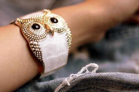 Owl Owl OwlBling, Cuffs Bracelets, Fashion, Style, Beautiful, Bangles, Owls Bracelets, Accessories, Owls Jewelry