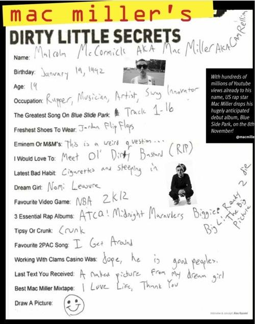 mac miller's dirty little secrets mnhmm