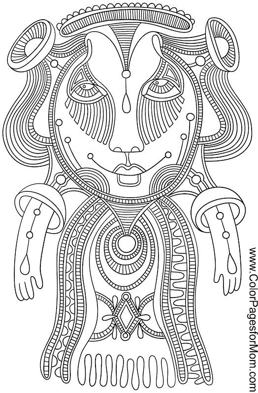 creature coloring page 14