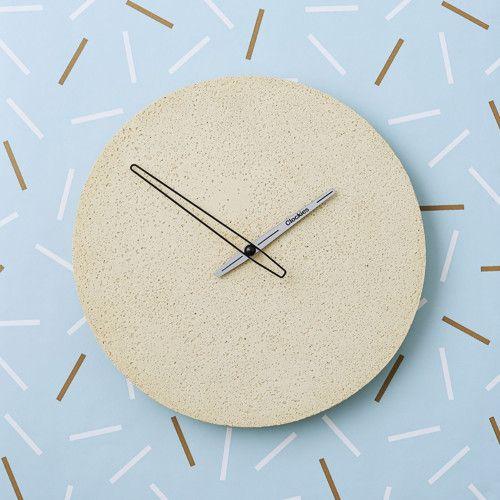 Betonové hodiny nástěnné - Clockies 1709