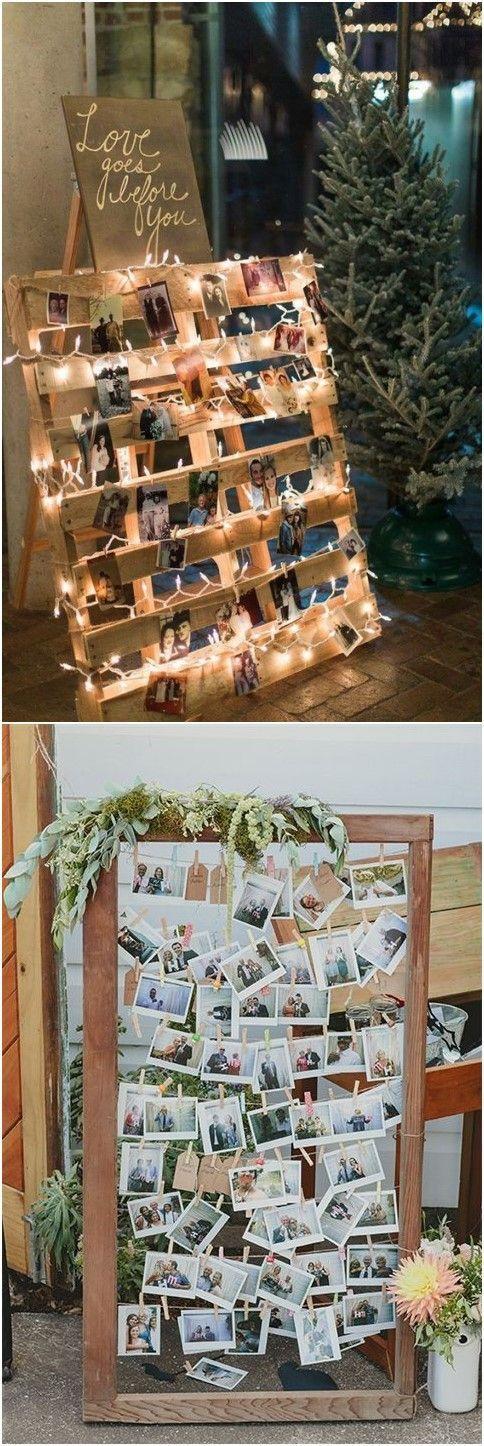 Kreative Polaroid-Hochzeitsideen sind zu cool, um darauf zu verzichten! #Hochzeit #Hochzeitsideen