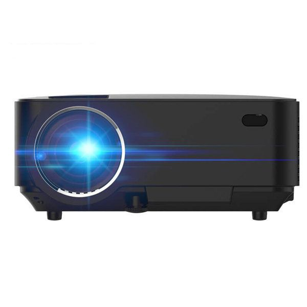 T20 Portable LED 1200 Lumens Projector Support 1080P Home Theater PC USB HDMI AV VGA SD Sale - Banggood.com