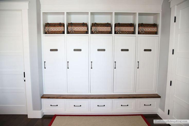 Best 25 Built In Lockers Ideas On Pinterest Mudroom