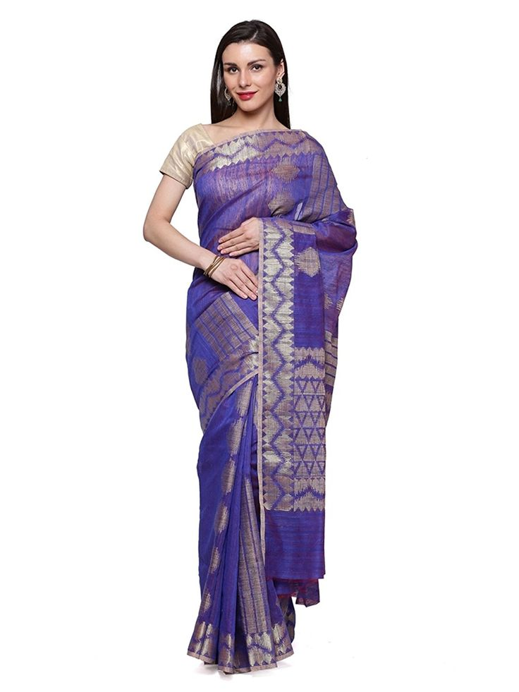 """Look Trendy by wearing this Amazing Beautiful Saree From House of """"Banarsi Silk Works"""". It comes with a #bestbuy itched #blouse #Piece. #Designed using the #best quality fabric, along with best #combination of colours, ensures that it should #never fail to be the #perfect #eye magnet. BuyNow@ http://amzn.to/2i2cExC"""