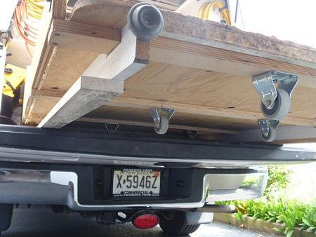 homemade truck bed