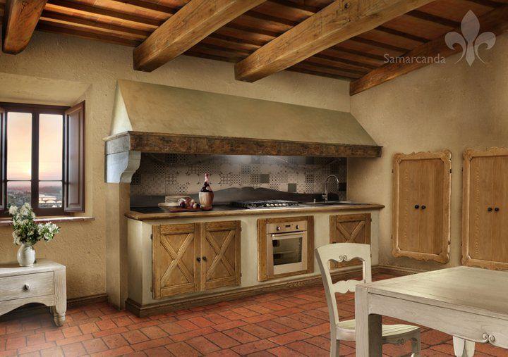 Grande cappa cucina rustica cerca con google forte cucina pinterest cucina e ricerca - Cappe aspiranti per cucine ...