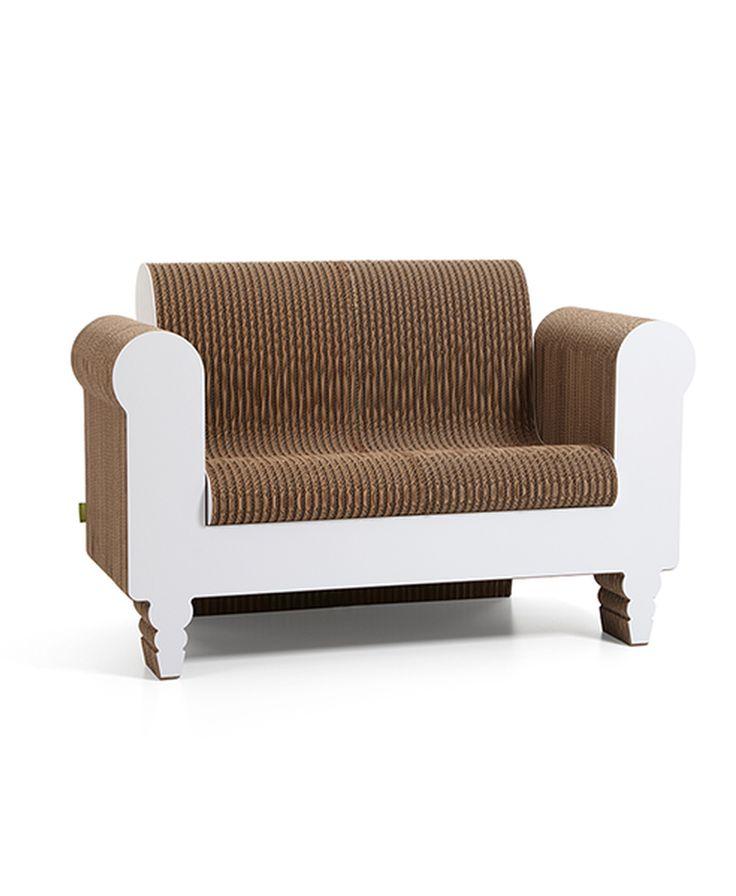 cardboard sofa