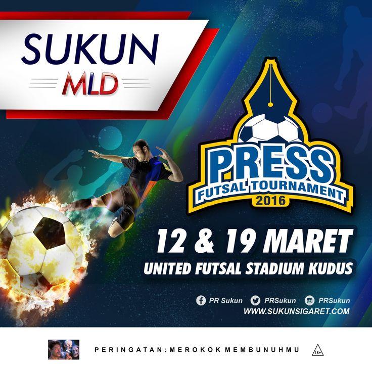 Empat tim siap bertanding di Press Futsal Tournament 2016 yang akan digelar tanggal 12 dan 19 Maret 2016 di United Futsal Stadium Kudus    http://www.sukunsigaret.com/861/empat-tim-siap-bertanding-di-press-futsal-tournament-yang-digelar-besok-di-united-futsal-stadium-kudus/