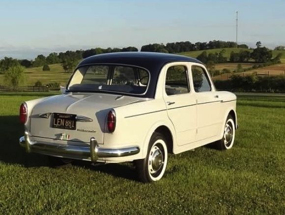 1958 Fiat Millecento For Sale Rear Maintenance of old vehicles: the material for new cogs/casters/gears could be cast polyamide which I (Cast polyamide) can produce