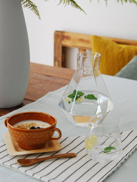 Water and diamonds. The world's most treasured resources are getting more rare each day and need to be treated with care. The 'Rare' carafe was inspired