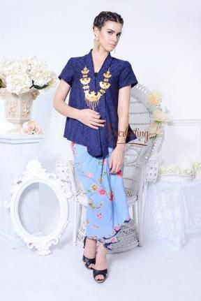 CA.10303 Kartika BlueDoby Top -M