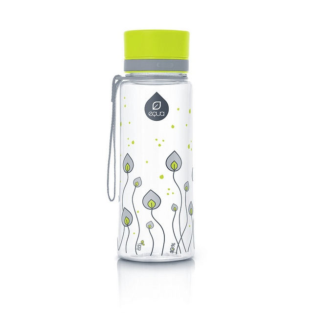 Leaves design by mEQUA - super cute Eco friendly waterbottles!