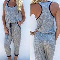 @jordanfarrell411 | Wish | Women Bodysuit Summer Stylish Sexy Playsuit Ladies Camisole Playsuit Evening Party Club Overalls