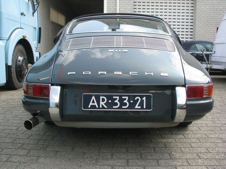 Back- Speed Service Porsche 911 S SWB