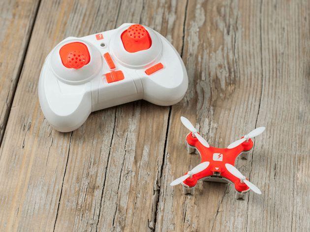 Este cea mai mică dronă din lume echipată cu cameră video .   În ultima perioadă dronele au devenit tot mai populare în rândul pasionaților de gadgeturi, în parte pentru distracție, în parte pentru fi... http://www.gadget-review.ro/skeye-nano-drone/