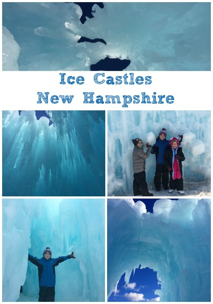 The Ice Castles in Lincoln New Hampshire!  Great family fun! @icecastles1
