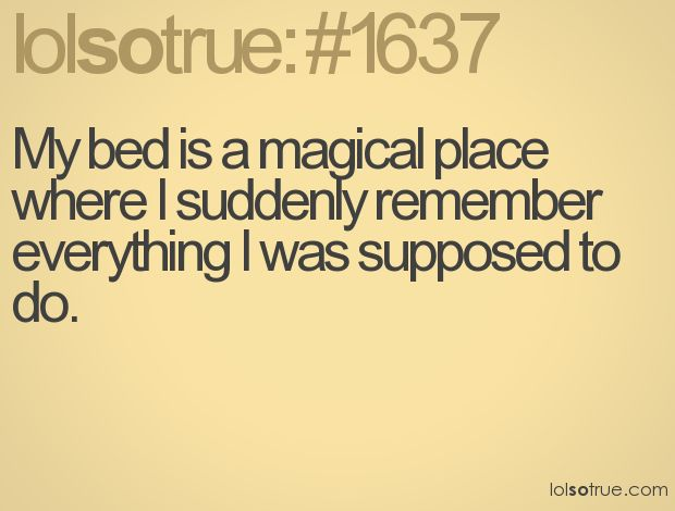 Beds, Laugh, Quotes, Sotrue, Magical Places, Magic Places, Funny Stuff, So True, Humor