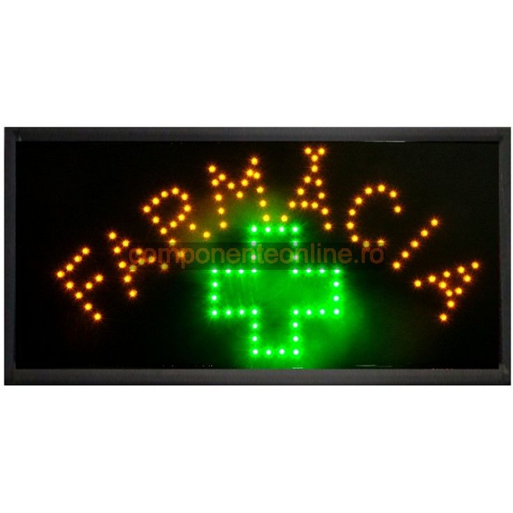 Afisaj cu LED-uri, afisaj Farmacia - 113622