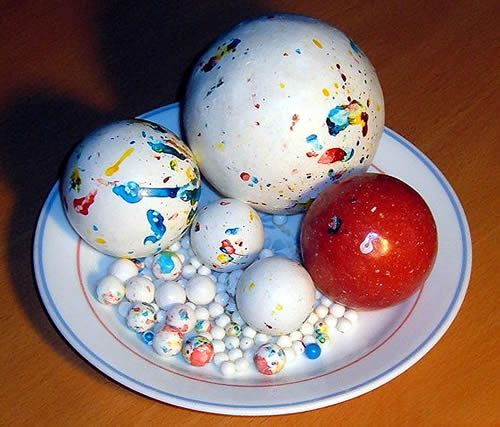 Jaw Breakers.  I had one of the gigantic ones ~ I know I never got to the center of it ~ unless I took a hammer to it! ; )