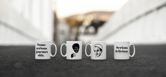 Serious mugs. Photo by: Viktor Holm