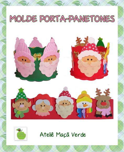 MOLDE PORTA PANETONE